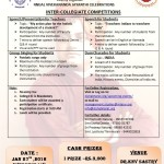 VIVEKANANDA JAYANTHI CELEBRATIONS 2016 - Inter-Collegiate Competitions