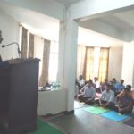 Holistic Personality Development worskhop in SDM Ayurvedic College Hassan for PG Students