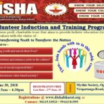 Disha Calls for Volunteers for the Volunteer Induction Program on the 30th of June, 2018